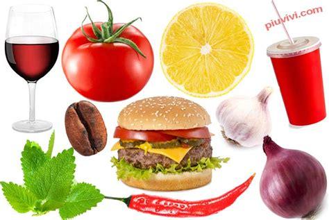alimenti da evitare per il reflusso reflusso alimenti da evitare