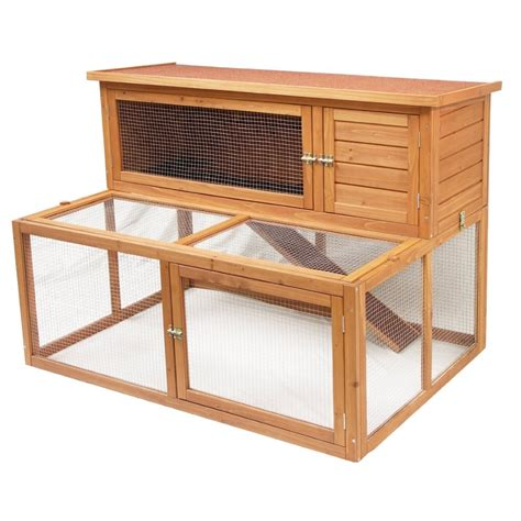 Hutches For Guinea Pigs Pin Outdoor Rabbit Hutch Plans Free Diy Shed Wooden On