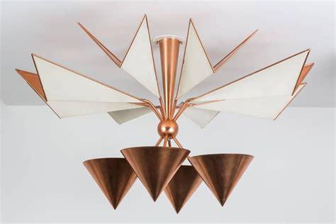 copper flush mount ceiling lights copper flush mount ceiling light for sale at 1stdibs