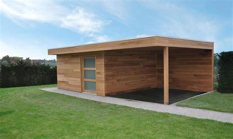 groot tuinhuis met overkapping tuinhuis in iroko houten houten tuinhuizen woodproject