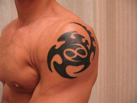simple shoulder tattoos cancer tattoos designs ideas and meaning tattoos for you