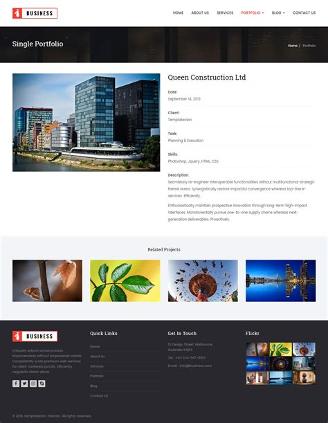 themeforest html bootstrap my business html bootstrap template by templateclan