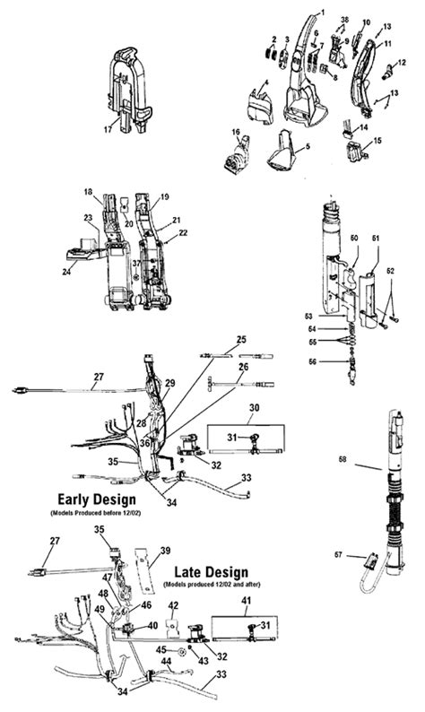 hoover floormate parts diagram hoover f7221 steamvac dual v cleaner parts