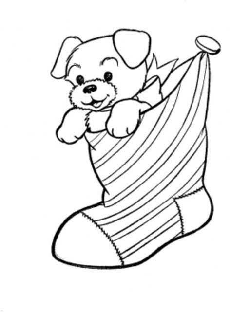 coloring pictures of puppies at christmas christmas puppies coloring pages for kids gt gt disney