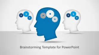 brainstorming powerpoint template slidemodel