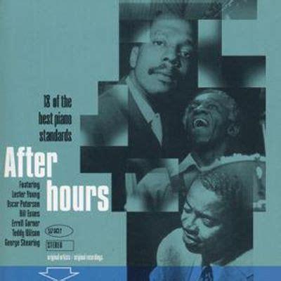 afterhours the best of after hours 18 of the best piano standards various