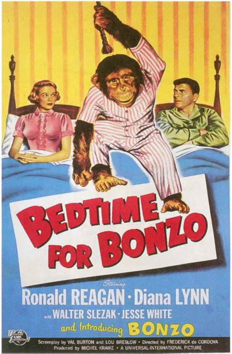 bedtime for bonzo movie posters from movie poster shop