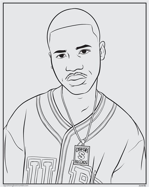 coloring book rapper free coloring pages of rappers draw
