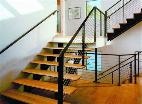 Cable Stair Railing Stair Cable Railing Modern Staircase By Ultra Tec