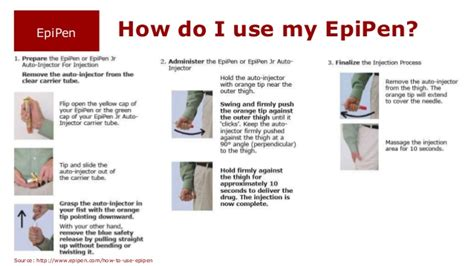 how do you use epinephrine autoinjector