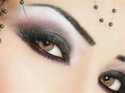 imagenes ojos color miel maquillaje para los ojos marrones