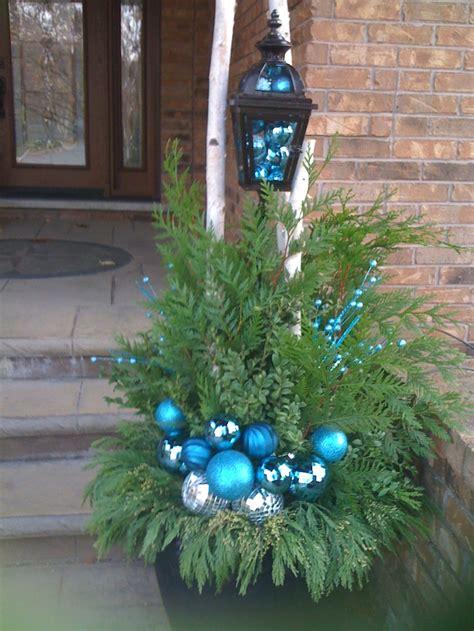 turquoise christmas aqua x mas decor ornaments pinterest