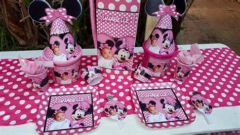 themed kiddies party decor minnie mouse party supplies