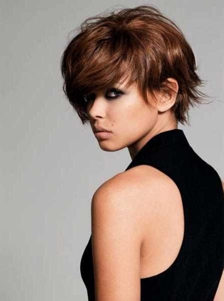 hairstyles for thick voluminous hair 20 inspirations of short haircuts for voluminous hair