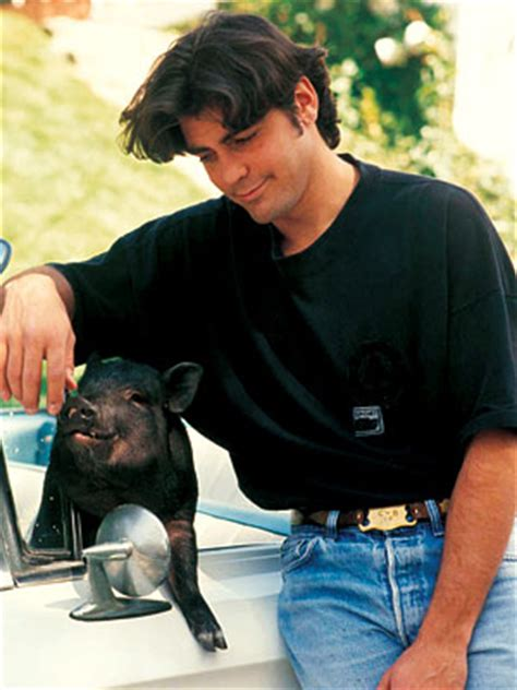 George Clooney Mourns His Dead Pig by George Clooney About Pig