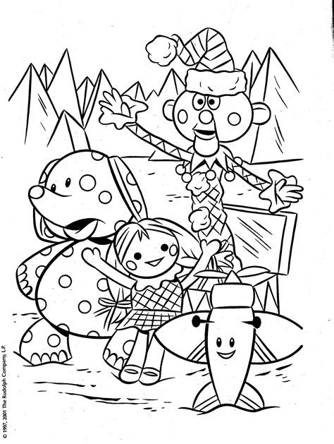 Rudolph And The Island Of Misfit Toys Coloring Pages | from a rudolph coloring book of the misfit toys island