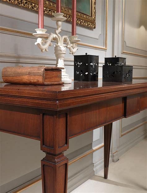 tavoli allungabili classici tavolo consolle allungabile particolare vimercati meda