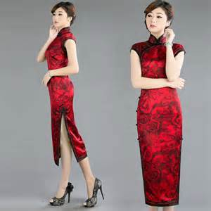 Cheongsam chinese traditional bridal wedding dress modern qipao