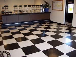 checkerboard floor for the home