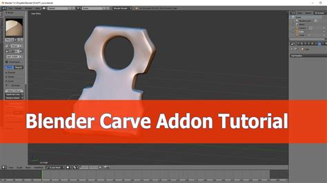 blender tutorial addon blender addon mt carve and create blendernation