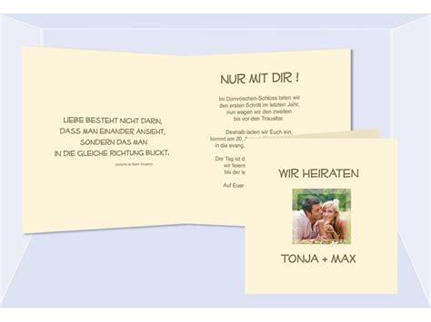Hochzeitseinladung Einfach by Hochzeitskarte Hochzeitseinladung Einladung
