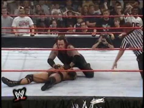 undertaker defeats the rock at king of the ring 1999