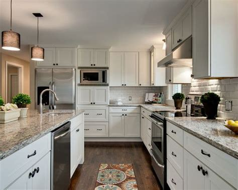 White Shaker Kitchen Home Design Ideas, Pictures, Remodel