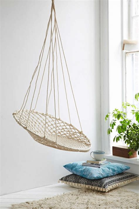 easy pieces hanging chairs gardenista