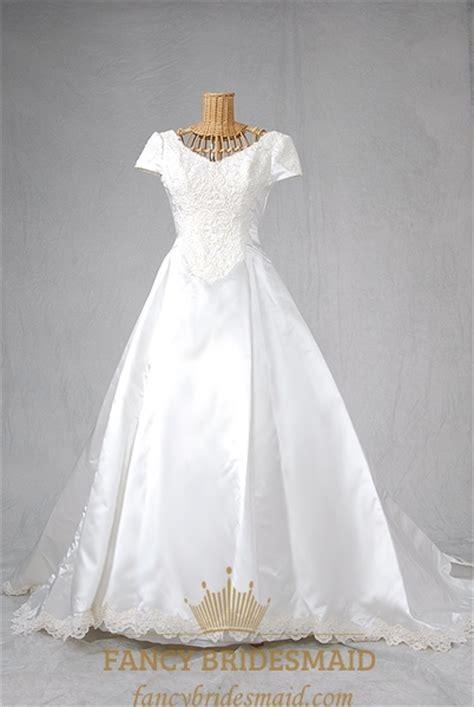 Basque Wedding Dress basque waist wedding dress wedding dress with trains
