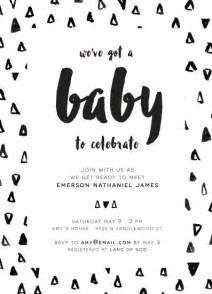 black and white baby shower invitations almsignatureevents