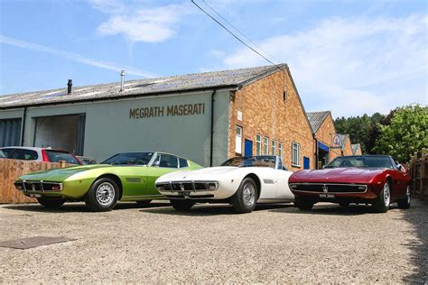 Maserati Collection by Important Maserati Collection Celebrates The Golden Age
