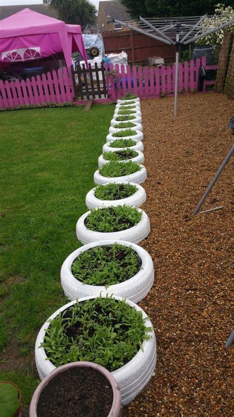 garden decoration with tyres 25 best ideas about tire garden on tire