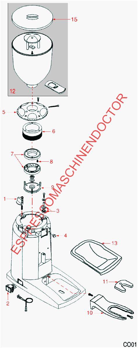 len reparatur compak ersatzteile espressomaschinen ersatzteile und