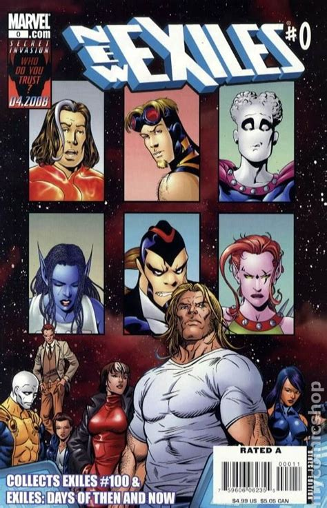 exiles books new exiles 2008 marvel comic books