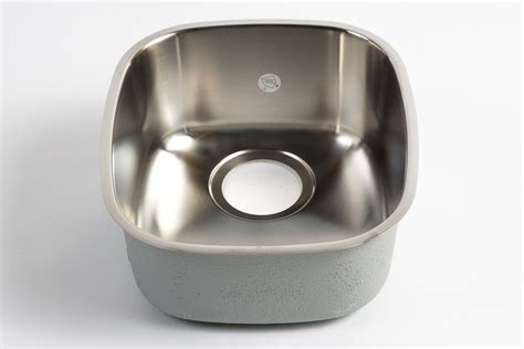 stainless steel sink cost franke 12 quot compact undermount single bowl stainless