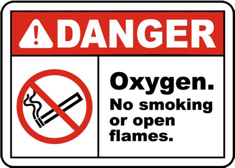 no smoking oxygen signs printable pin printable warning oxygen sign on pinterest