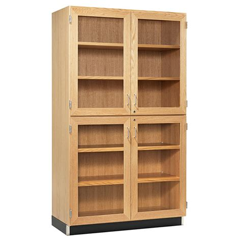 Storage Cabinet Glass Doors Storage Cabinets With Four Glass Doors Schoolsin