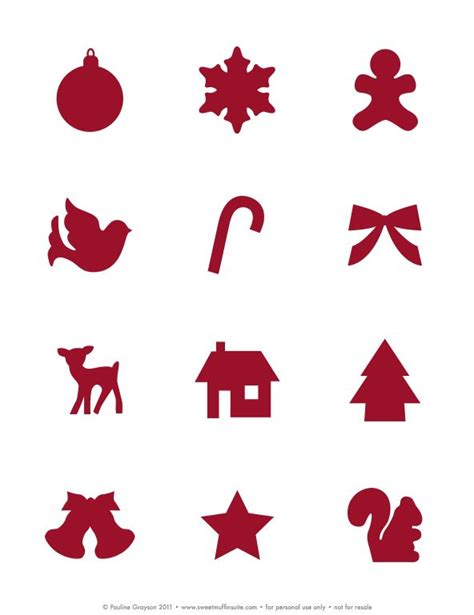 small printable christmas decorations free printable day 23 last minute christmas stickers
