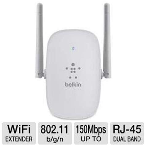 resetting wifi extender belkin belkin f9k1111 n300 dual band wi fi range extender rj 45