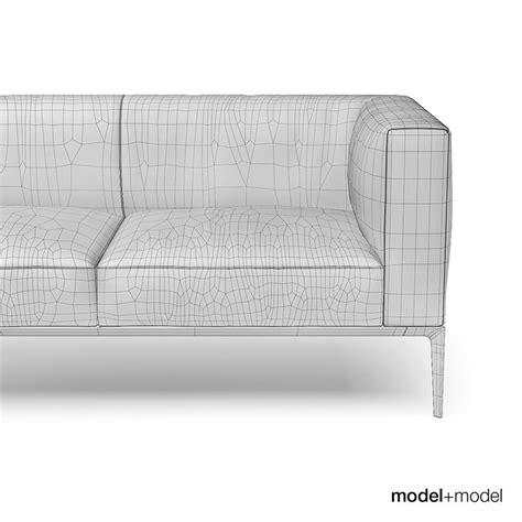 walter knoll jaan sofa walter knoll jaan sofas 3d model cgtrader com