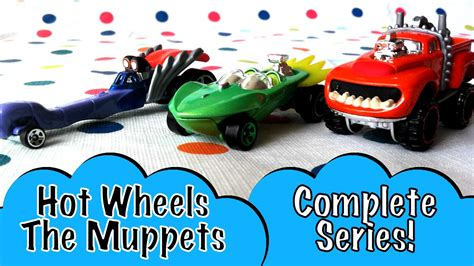 Hotwheels The Muppets complete wheels the muppets animal kermit
