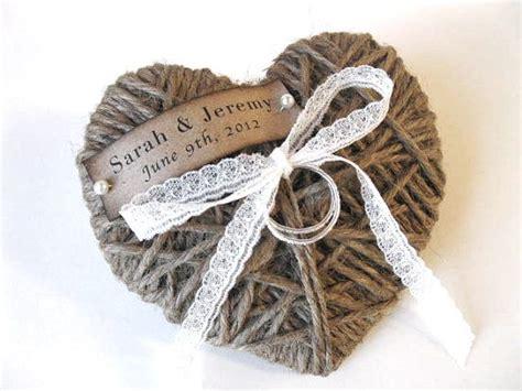 ring bearer pillow reuse as christmas ornament wedding