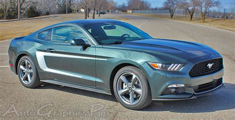 Premium Tas Rayleigh Mustang Series Olive Green 2015 2016 2017 ford mustang quot quot c stripe style side stripes vinyl decal graphics