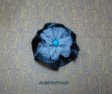 T Flowers Bunga Satin anggitsaflower handmade black season