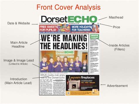 video media layout masthead media local newspaper analysis