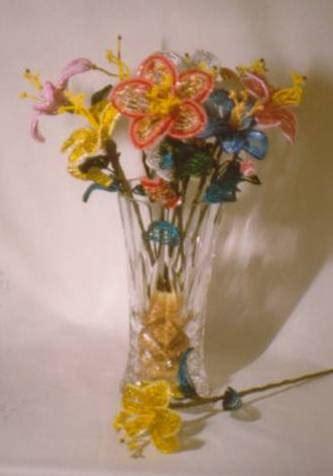 perline fiori fiori perline
