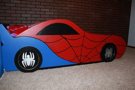spiderman bed spider man car bed kid ideas pinterest cars car bed and other