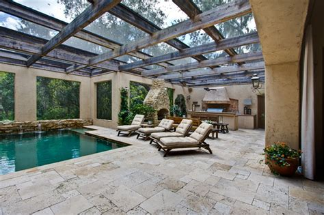Patio And Outdoor Warehouse blend travertine pavers mediterranean patio