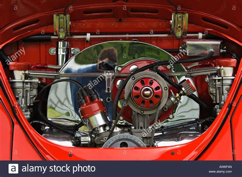 volkswagen beetle engine custom volkswagen beetle engine stock photo royalty free