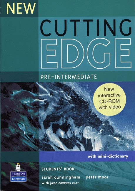 new cutting edge pre intermediate students book and cd rom